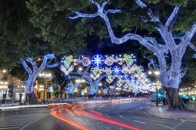 malaga luces navidad alameda