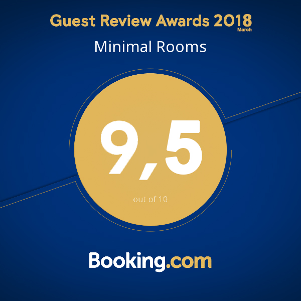 Minimal Rooms Booking 9,5